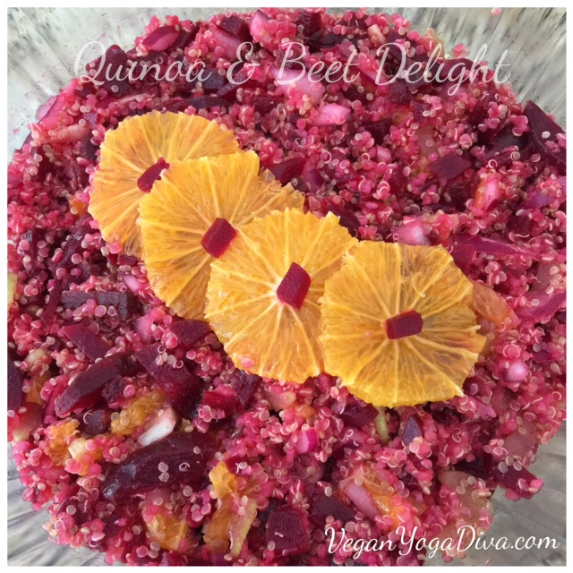 Quinoa & Beet Delight