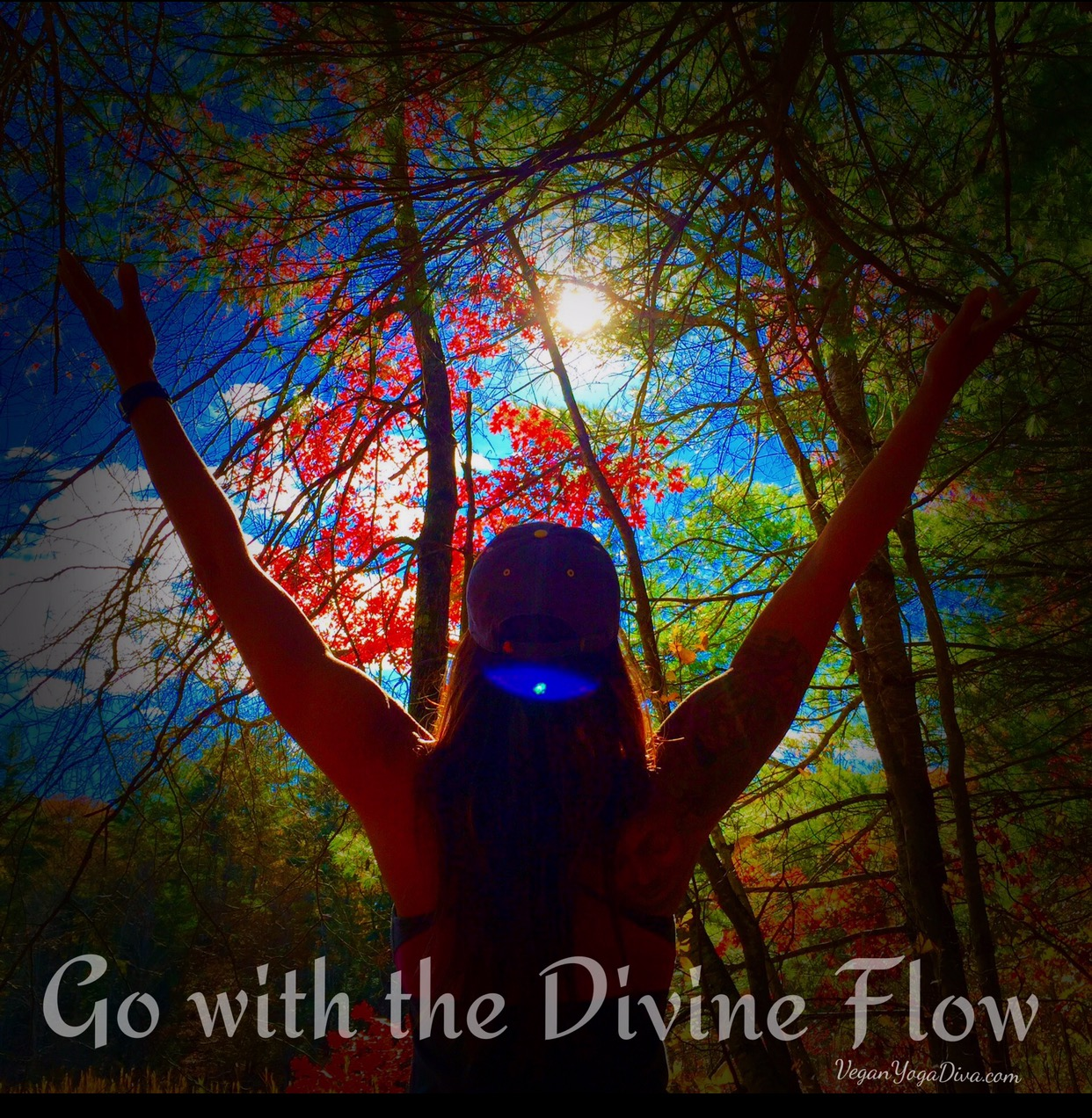 connect to the divine flow